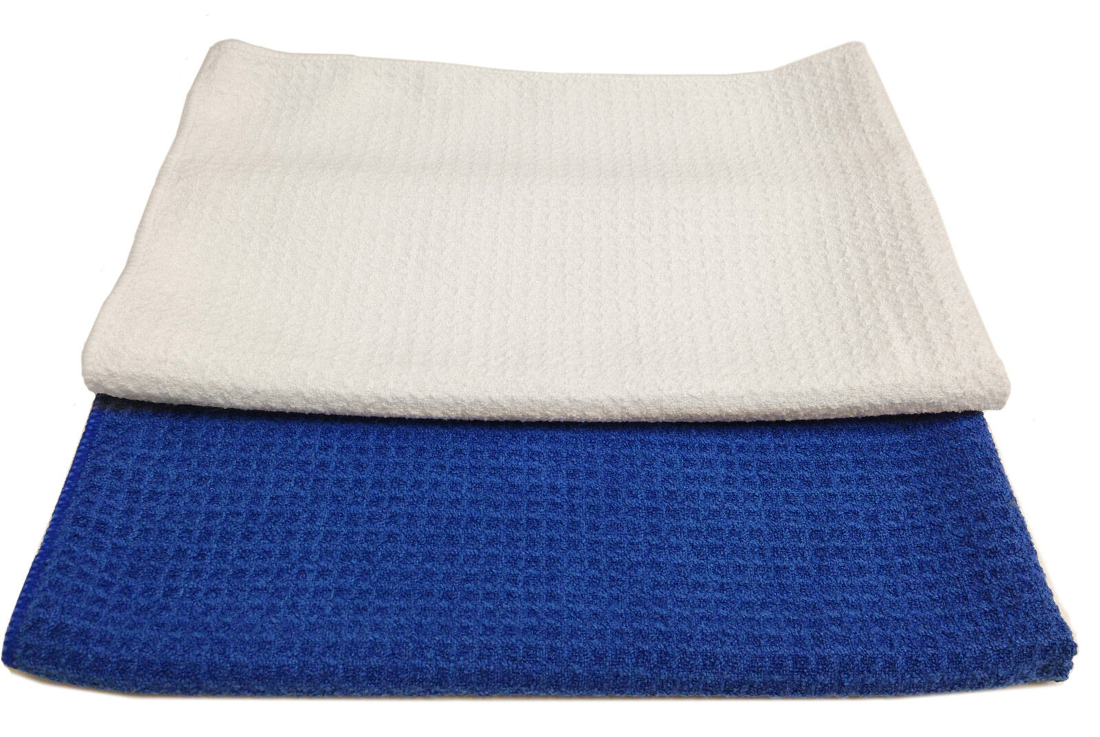 24 Microfiber Waffle Weave 16 x24  Cleaning Dusting Polishing Towels 300GSM