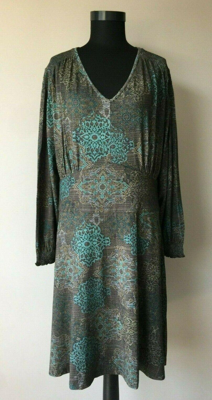 Deerberg Damen Jersey Stretch Kleid gr.XL Neu!