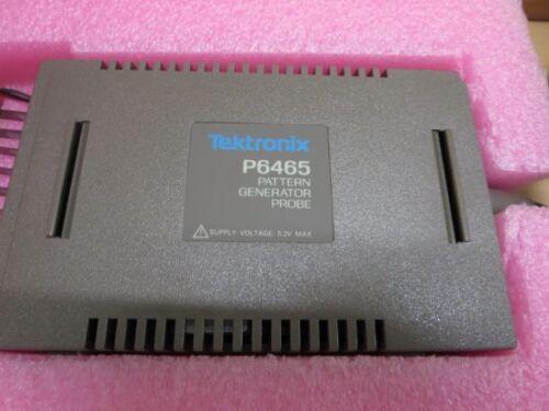 TEKTRONIX P6465 TTL//ECL PATTERN GENERATOR PROBES WITH STANDARD ACCESSORIES