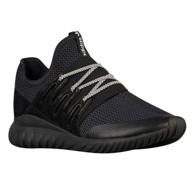 Adidas Originals Tubular Radial Core Black Vintage White S76719 Mens Shoes