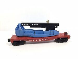 Lionel-O-Scale-Rocket-Missile-Launcher-Flat-Car-Train-6650-Vintage-No-Rocket