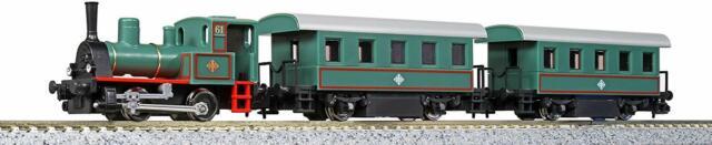 Kato 10-503-1 Steam Locomotive Train Set (Pocket Line) (N scale)
