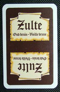 1-x-Joker-playing-card-single-swap-Belgium-beer-Zulte-Oud-Bruin-R-ZJ571