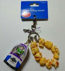 TOY STORY BUZZ  LIGHTYEAR Keychain Popcorn Bucket Tokyo Disney Resort Japan