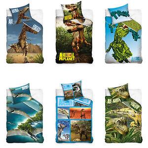 animal planet bettw sche dinosaurier bed linen dinosaur. Black Bedroom Furniture Sets. Home Design Ideas