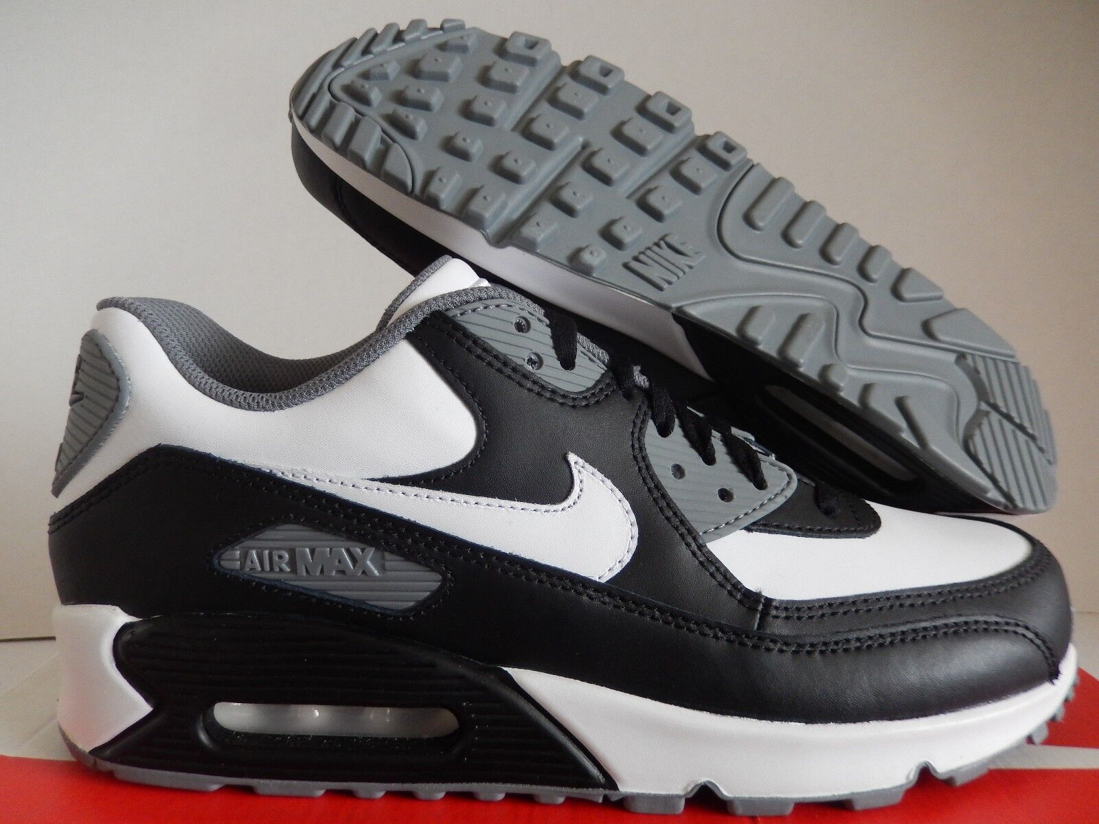 NIKE AIR MAX 90 ID BLACK-WHITE-GREY Price reduction New shoes for men and women, limited time discount