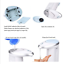 thumbnail 3 - Soap Dispenser, Hands-Free, Battery Operated, Infra Red Sensor, Automatic