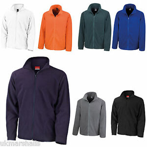 Resultado-Micro-Polar-Full-Zip-chaqueta-abrigo-caliente-en-7-Colores-rs114m