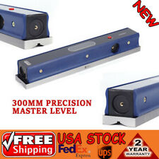 12 0000210 Master Precision Level In Fitted Wooden Box For Machinist Kits