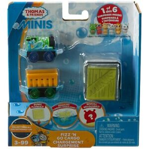 Thomas-amp-Friends-Minis-FIZZ-N-GO-CARGO-PERCY-Train-Mystery-Surprise-Fisher-Price
