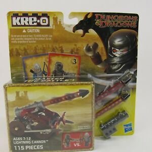 KRE-O-Dungeons-amp-Dragons-Lightning-Cannon-Set-A6737-NEW-115-Pieces