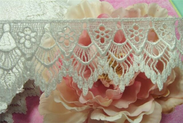 Lovely ~Victorian ~Inspired ~WHITE~ Venise ~Lace Trim