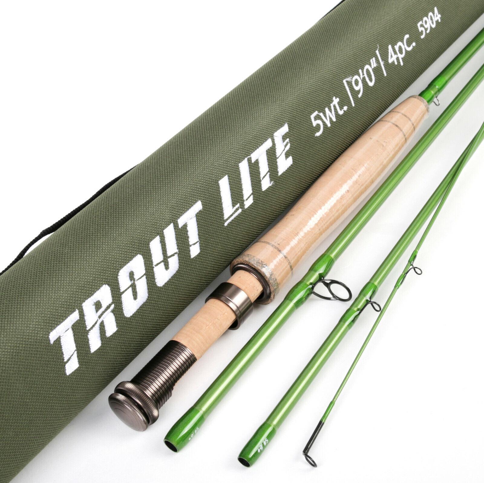 Maxcatch Trout Lite Fliegenrute, Fly Rod in 3 Grössen