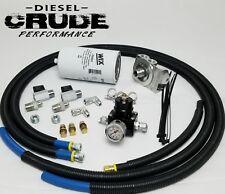 94-97 OBS Ford 7.3L Powerstroke Fuel Filter Bowl Delete Regulated Return Kit