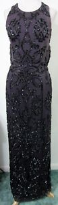 Purple-10-Fully-Beaded-EVENING-GOWN-Prom-Dress-Formal-Pageant-Gala-Ball