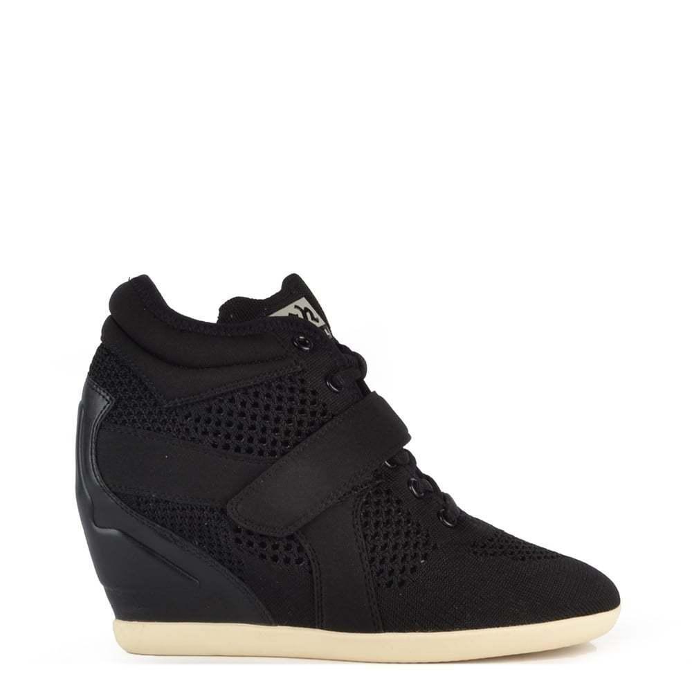 ASH Footwear BEBOP MAGLIA nere e neoprene sportivo