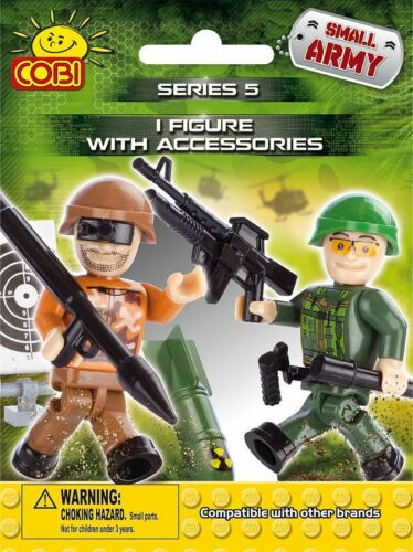 SELECT A FIGURE COBI SMALL ARMY MINI FIGURE WITH ACCESSORIES MULTILISTING