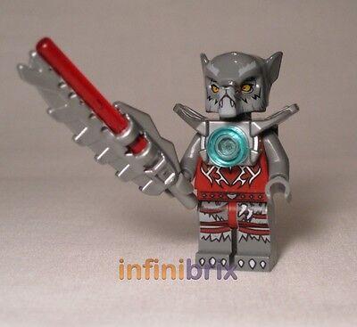 Lego wakz 70004 de jeux 70009 Legends of Chima Loup Tribu NEUF loc008