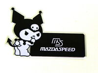 X1 Mazda Kuromi Devil Hello Kitty Emblem Japan Rare Jdm