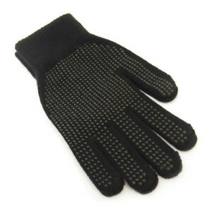 Mens-Ladies-Black-Warm-Winter-Magic-Gripper-Gloves-Driving-Gloves-Horse-Riding