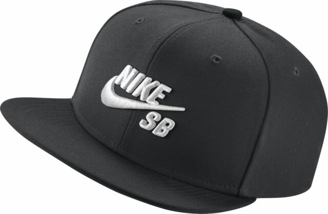 reasonably priced half off various styles Nike SB Icon Pro Black Adjustable Snapback Cap