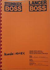 Transport & Logistik Handbuch Gabelstapler Steinbock PE-D MK-VI ...