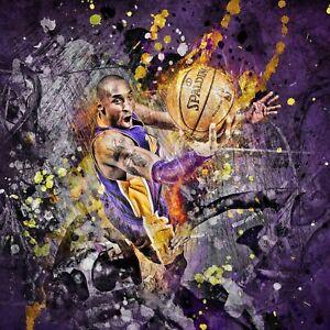 Kobe Bryant poster wall decoration photo print 24x24 inches