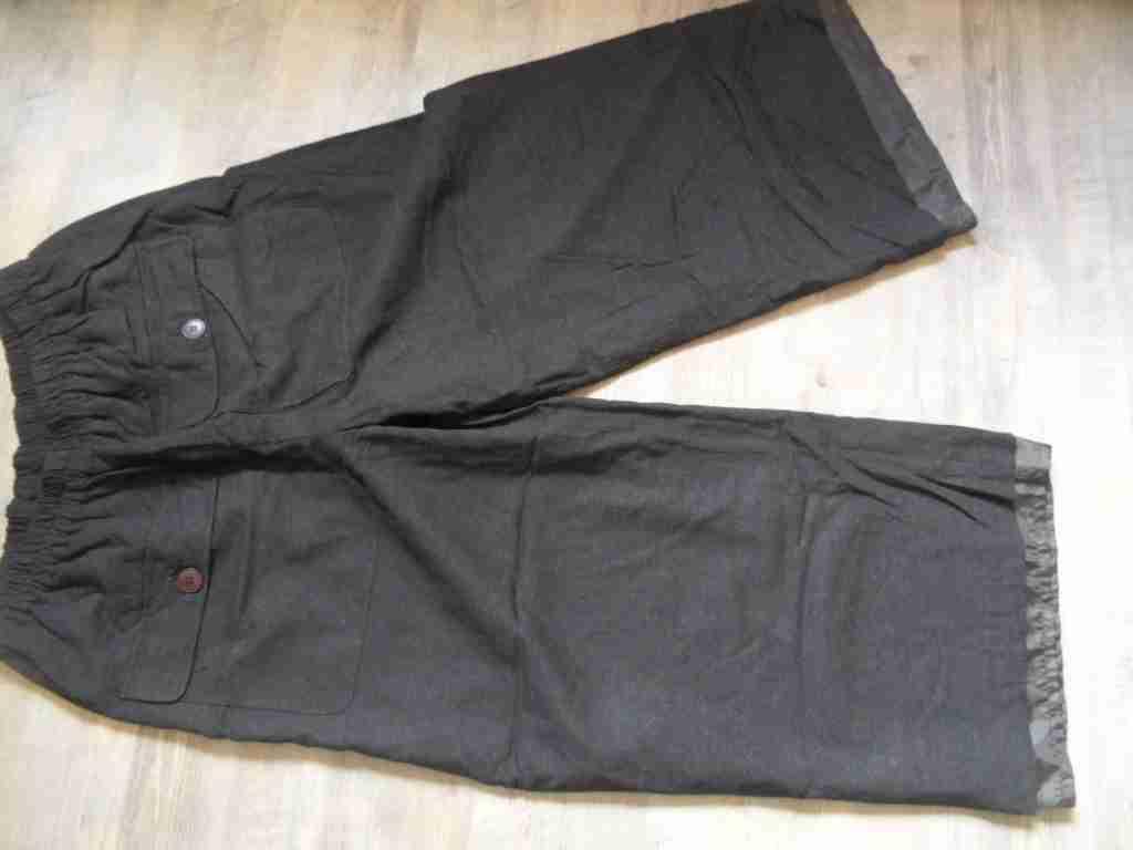 Nook fantastiche Lagenlook Pantaloni Giacca per Marroneee foderato tg. tg. tg. 3 hmi417 357bd3