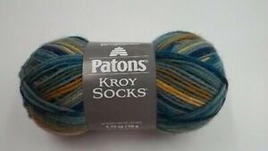 1 Skein Patons Kroy Socks Yarn Fifties Stripes color