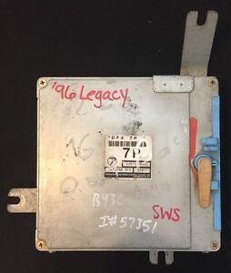 1996 96 SUBARU LEGACY OUTBACK ENGINE CONTROL COMPUTER ECU ...