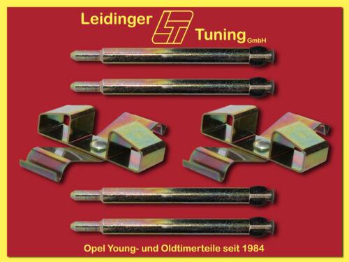 Kadett C  Bremsbeläge Zubehörsatz bei Bremssattel  Bremsscheiben mit 246 mm