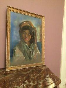 Pastel orientaliste de Guy Séradour (1922-2007) - France - Genre: Orientalisme - France