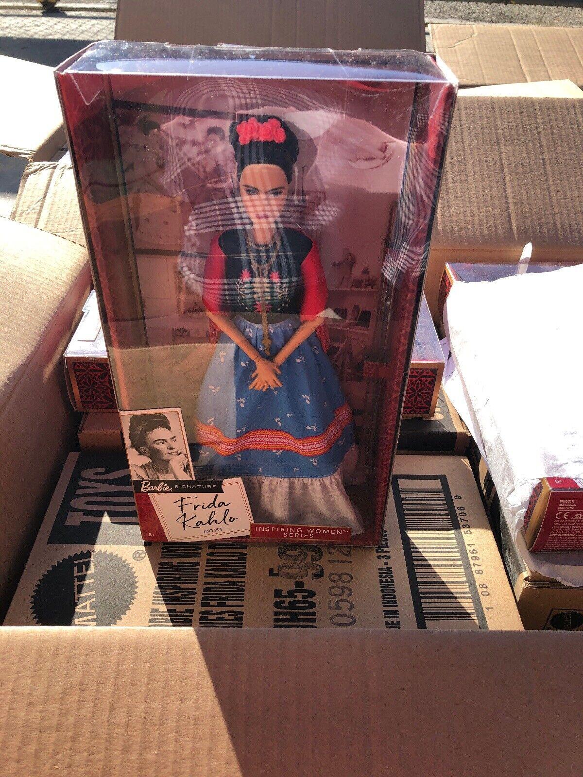 Barbie inspirador mujeres serie Frida Kahlo Muñeca Mattel Nuevo En Caja