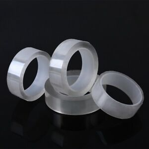 1-5m-Double-sided-Grip-Tape-Traceless-Washable-Adhesive-Gel-Nano-Invisible-Tape