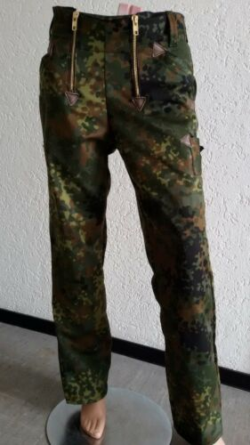 Bundeswehr Zunfthose flecktarn Arbeitshose Feldhose Hose Moleskin Dachdeckerhose
