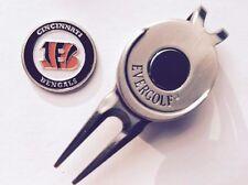 NFL Cincinnati Bengals Golf Ball Marker and Magnetic Divot Tool