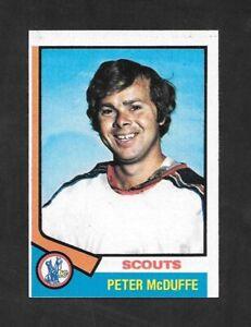 1974-75-TOPPS-HOCKEY-173-PETER-McDUFFE-KANSAS-CITY-SCOUTS