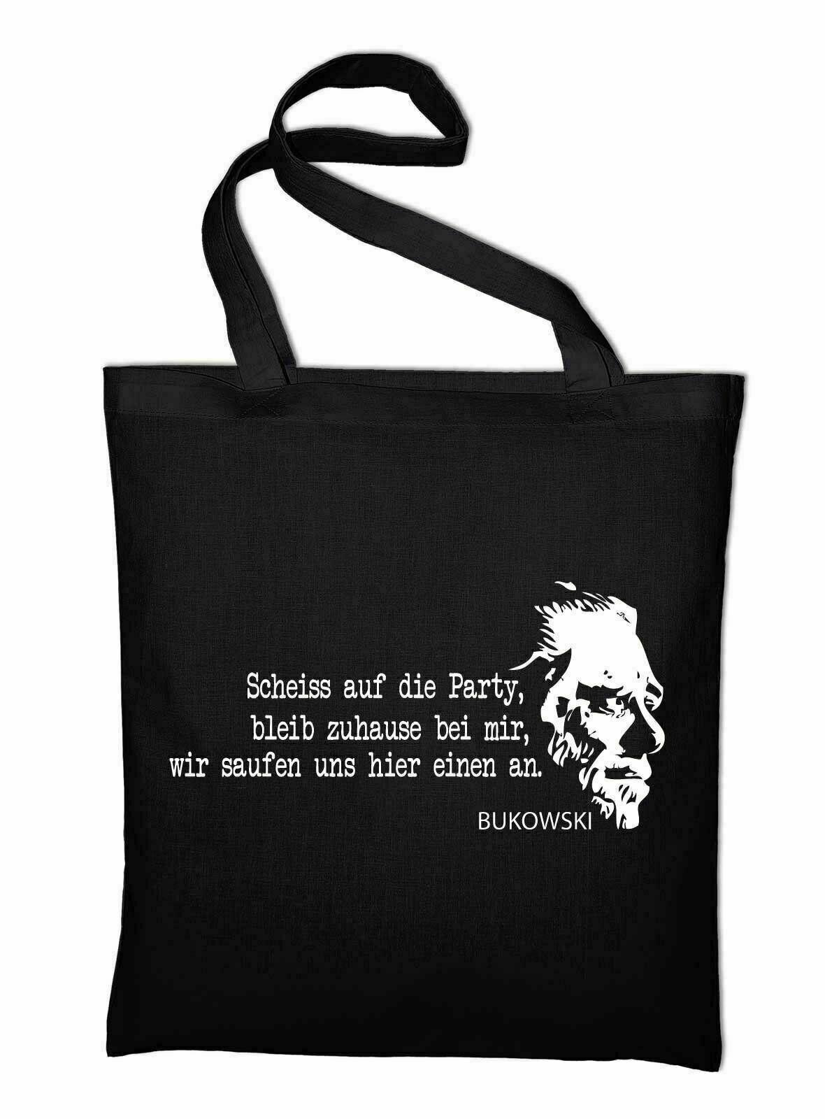 #2 Charles Bukowski Jute Bags BUK Spell Bag Fabric Bag Cotton Pocket Fan