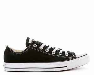 337eb0f194f4 Converse Chuck Taylor Black White OX Youth Boys Girls Kids Shoes ...