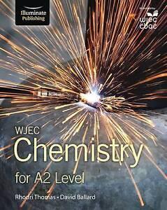 wjec chemistry for a2 student book by david ballard rhodri thomas rh ebay co uk Chemistry Revision Flash Cards GCSE Science