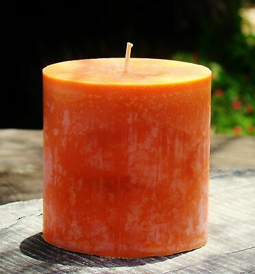 80hr MIMOSA /& PINK LADY APPLES Natural Fruit Scented OVAL CANDLE Gifts Under $25