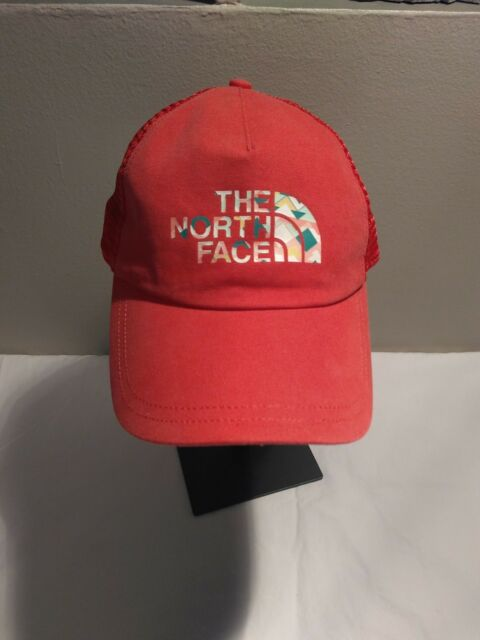 d7449560615 The North Face Womens Low Pro Trucker Cayenne Red Haze Baseball Cap ...