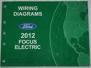 2012 Ford Focus Electric Model Wiring Diagrams Factory ...