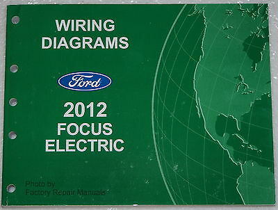 2012 Ford Focus Electric Model Wiring Diagrams Factory Electrical Shop  Manual | eBayeBay