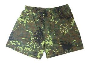 Mens FLECKTARN CAMOUFLAGE Cotton Boxer Shorts - All Sizes Underwear Army Pants