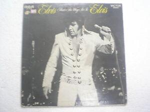 ELVIS PRESLEY ELVIS THAT S THE WAY IT IS RARE LP record vinyl INDIA 102 VG+