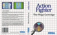 Action Fighter Custom Sega Master System Game Case (no Game)