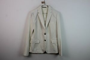 Gant Jacket r921 9 White 14 Uk Womens 18 No Size 61Odfw
