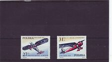POLAND - SG2808-2809 MNH 1982 VICTORY IN TOURIST AIRCRAFT CHALLENGE