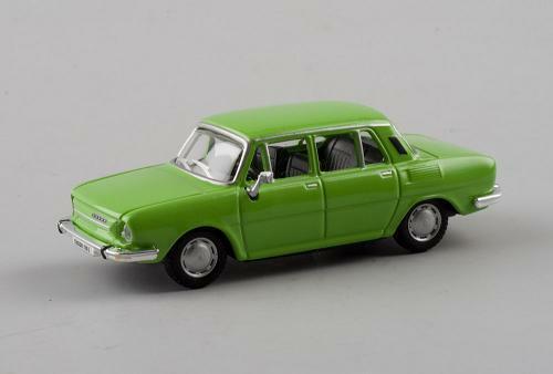 Skoda 110l 110 L Green Atractive GrÜn 171abd701hd 1//72 Abrex Modellauto Modell A